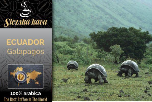 Slezská káva Ecuador Galapagos Slezská káva a čaj