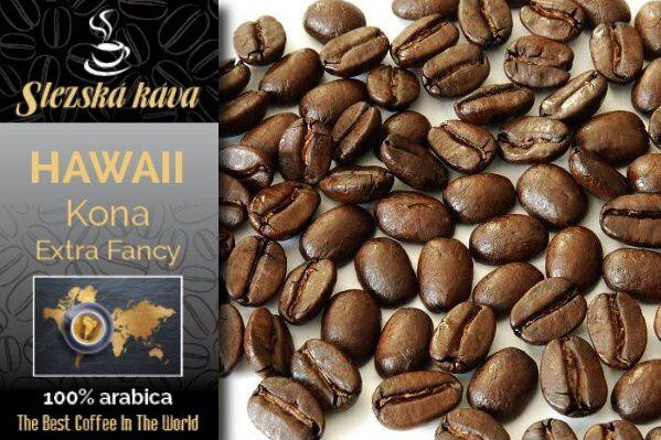 Slezská káva Hawaii Kona Extra Fancy Slezská káva a čaj