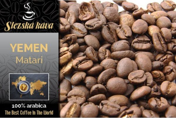 Slezská káva Yemen Matari Slezská káva a čaj