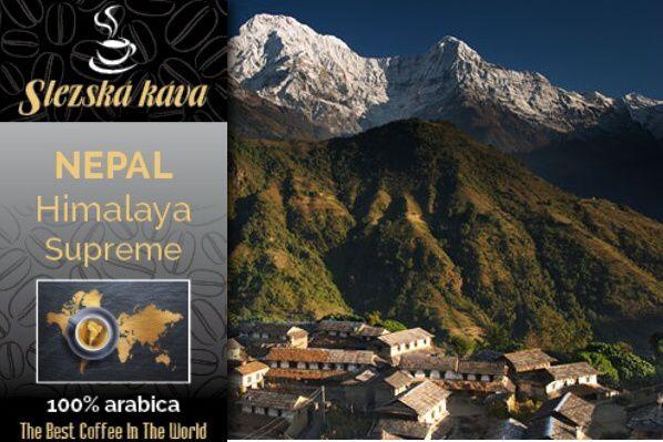 Slezská káva Nepál Himalaya Supreme Slezská káva a čaj